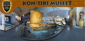 Visit the  Kon-Tiki Museum